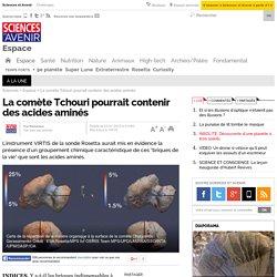 La comète Tchouri pourrait contenir des acides aminés - 23 janvier 2015