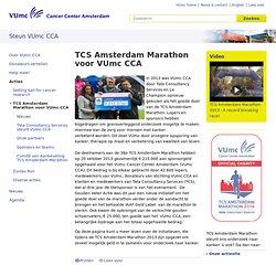TCS Amsterdam Marathon voor VUmc CCA - VUmc