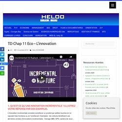 TD Chap 11 Eco - L'innovation