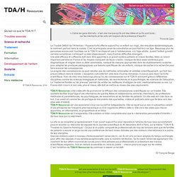 TDAH Ressources - Editorial - 5.5.2014