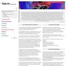 TDAH Ressources - Enjeux