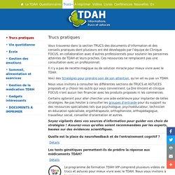 TDAH - Trucs pratiques