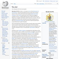 Tea Act - Wikipedia