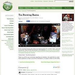 Tea Brewing Basics
