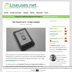 Tea Touch Lux 3 : le test complet