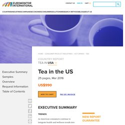 Tea in the US