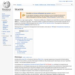 TEACCH Wilkipedia