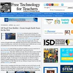 GE Teach Tour Builder - Create Google Earth Tours for the Web