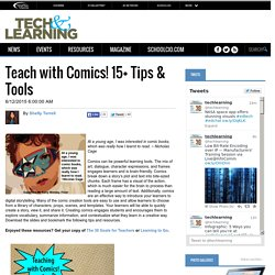 Teach with Comics! 15+ Tips & Tools