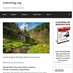 Teach English Writing: Videos