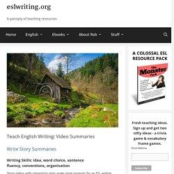 Teach English Writing: Videos