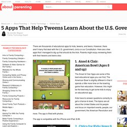 5 Apps That Teach U.S. Government and Civics To Tweens