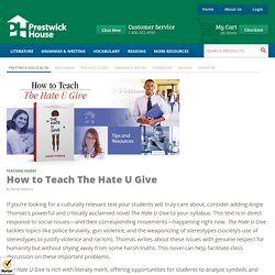 How to Teach The Hate U Give