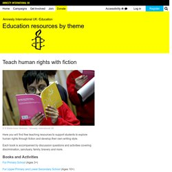 Teach human rights with fiction