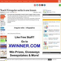Teach 9 irregular verbs in one lesson