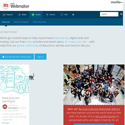 Mozilla Webmaker Resources