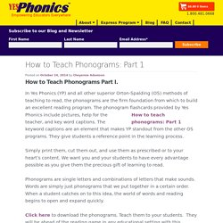 How to Teach Phonograms: Part 1 - YesPhonics