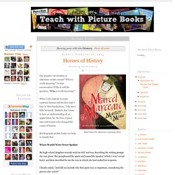 Teach with Picture Books: history