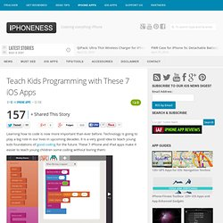 Teach Kids Programming with These 7 iOS Apps