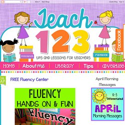 Teach123 - Tips for Teachers: FREE Fluency Center