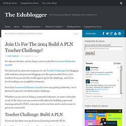 Join Us For The 2014 Build A PLN Teacher Challenge!