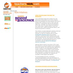 teachers.nick.com - Nickelodeon's Web site for Educators with Nick News and Blue's Clues