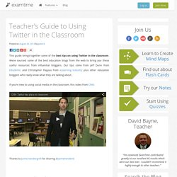 Teacher's Guide to Using Twitter in the Classroom - ExamTime