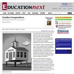 Teacher Cooperatives