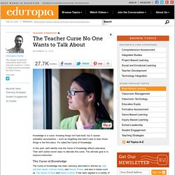 The Teacher Curse No One Wants to Talk About