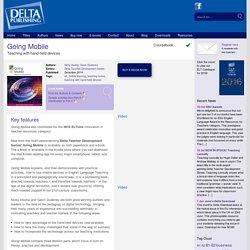 Delta Teacher Development Series - Going Mobile