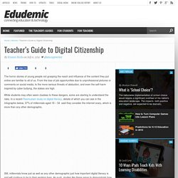 Teacher's Guide to Digital Citizenship