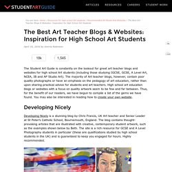 The Best Art Teacher Blogs: Inspiration for High School Students