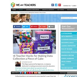 16 Teacher Hacks for Making Data Collection a Piece of Cake