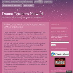 Drama Teacher's Network