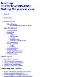 High School Math Teacher Profile - Dave Sladskey