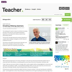Online publication for school educators