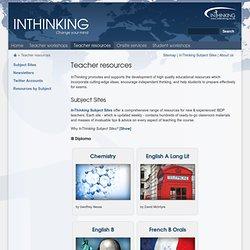 Teacher resources - InThinking
