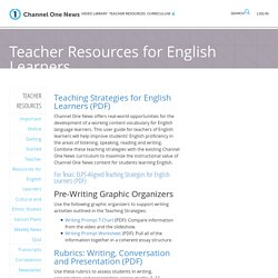 Teacher Resources for English Learners