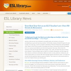 Your Best Year Yet as an ELT Teacher! 20+ Free PD Events & Resources