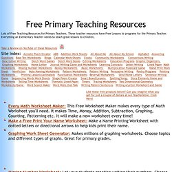 Free Stuff for Teachers, Free Teacher Resources, Free Materials for Teachers