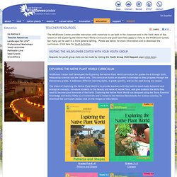 Teacher Resources - Lady Bird Johnson Wildflower Center