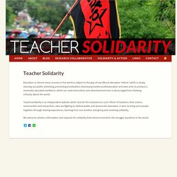 Teacher Solidarity