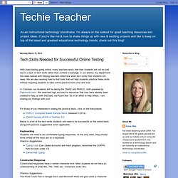 Tech Skills Needed for Successful Online Testing