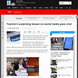 Social Media's Unexpected Ability to Connect Highlighted by Teacher