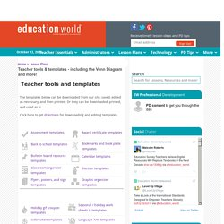 Education World® : Teacher Tools & Templates. Happy Thanksgiving!
