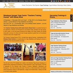 Yoga Teacher Training Course (Yoga TTC) - Hiyogacentre