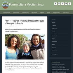 PTM – Teacher Training through the eyes of two participants