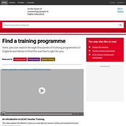 Teacher Training Course Search