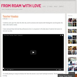 From Roam With Love