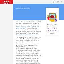 7 Best Teacher-Tested Writing Strategies
